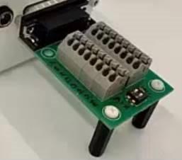 Terminal connector block for encoder programming tool