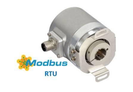 MODBUS RTU Hollow Shaft Encoder