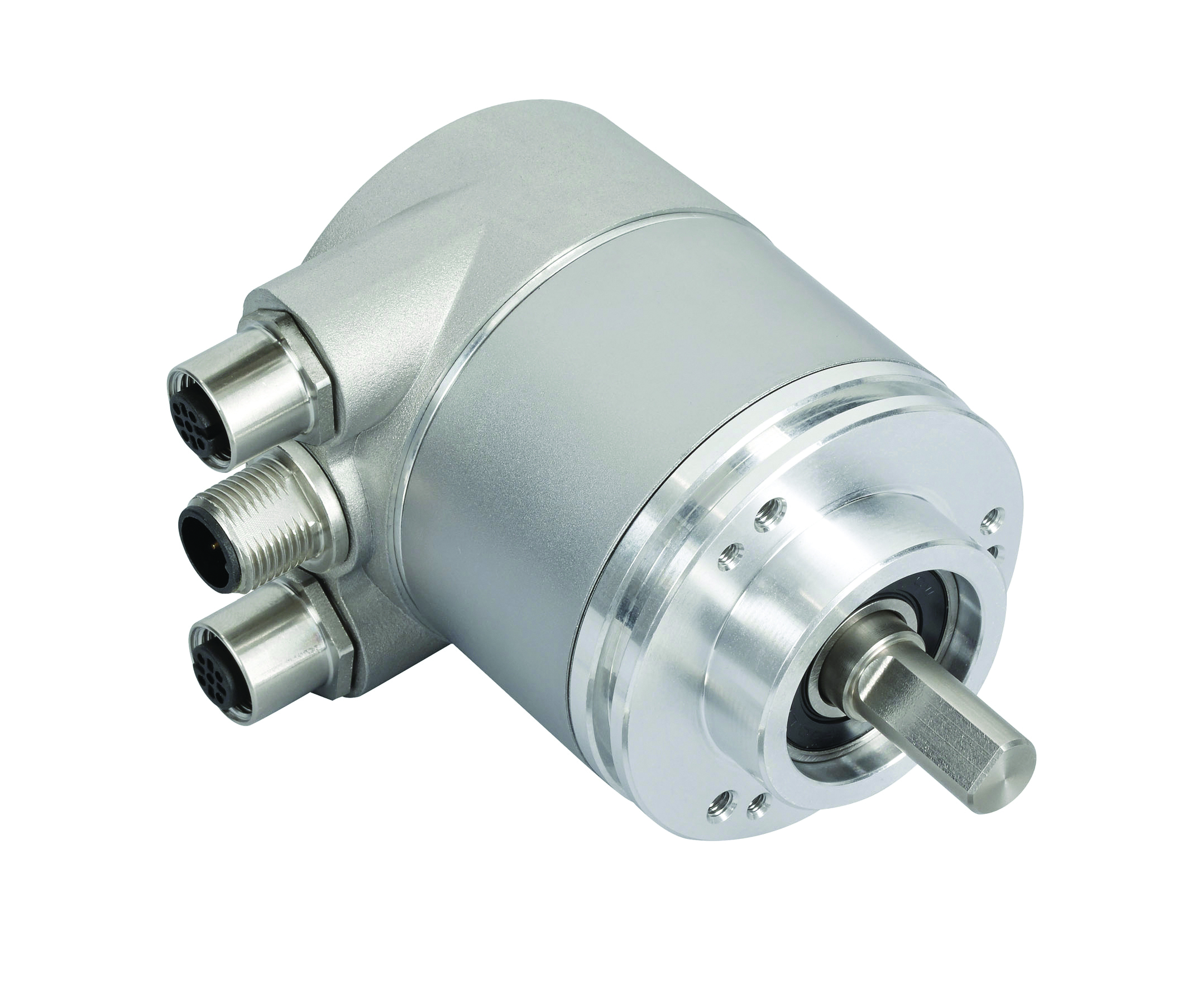 Posital Solid Shaft CANopen Encoder