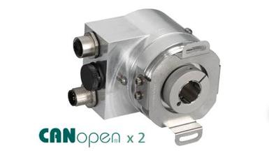 Posital TCR-CA01B-1413-B12S-PRX Redundant CANopen Encoder