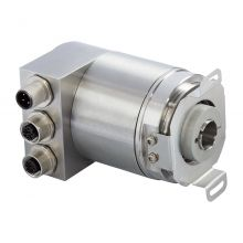 Absolute encoder with hollow shaft