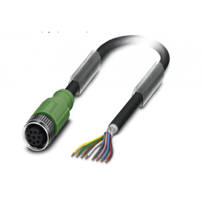 3m PUR Cable 8pin A-Coded f